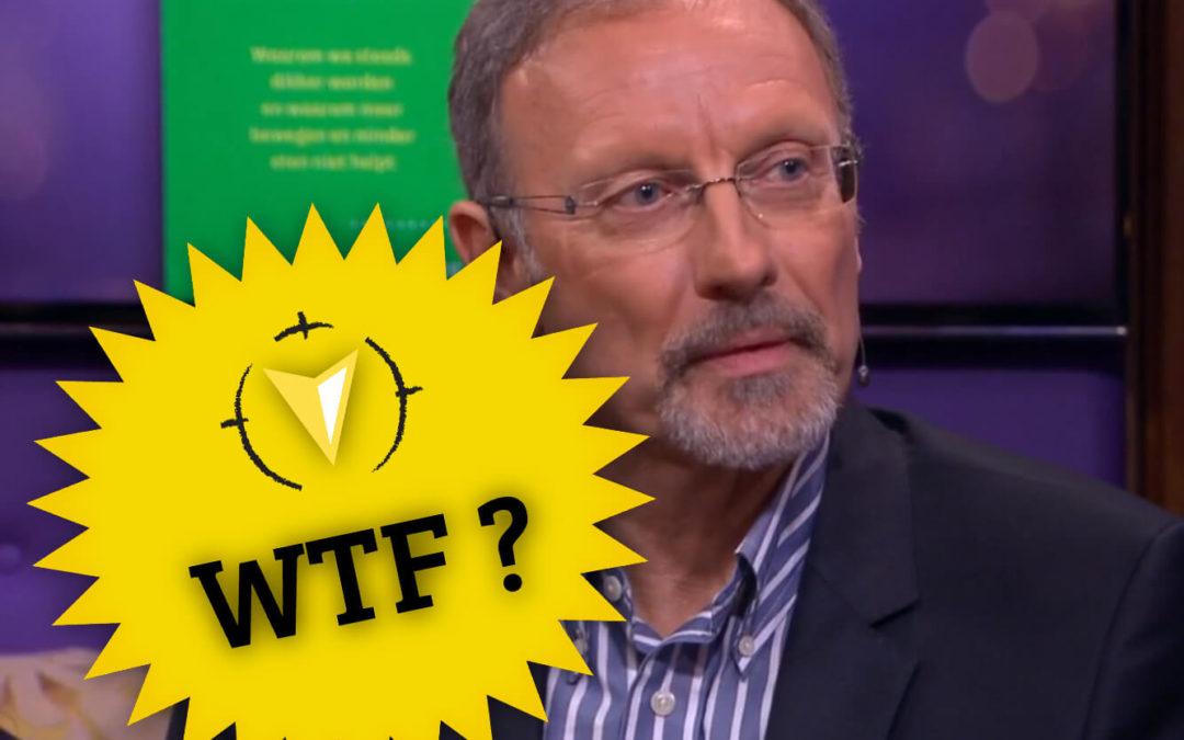 WTF: Dik van de koolhydraten zegt Cortvriendt op RTL Late night