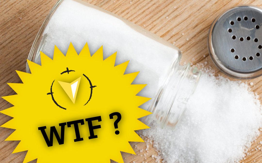 WTF: Meer zout om te rennen?